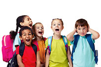 Des enfants qui crient