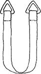 Élingues en fibre synthétique (nylon ou polyester)