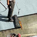 Du papier d'asphalte pour la toiture