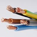 Des gaines de fils ou de câbles